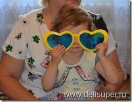 Диана в очках