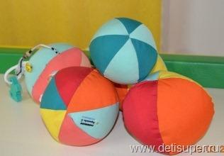 Мячик для ребенка своими руками